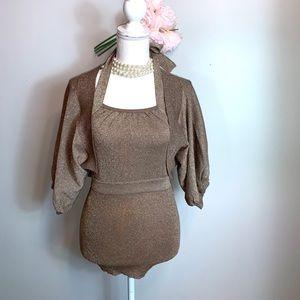 Beautiful 2Pc Party Sweater